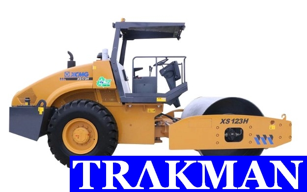 XCMG 12 ton vibratory manual road roller XS123 With